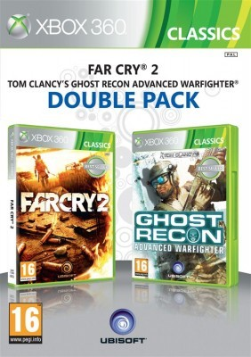 Игра Far Cry 2 + Tom Clancy's Ghost Recon: Advanced Warfighter (Double Pack) (Xbox 360) б/у (eng)