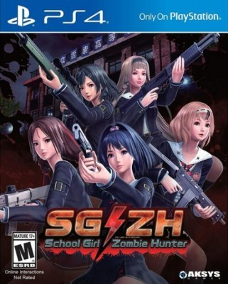 Игра SG/ZH: School Girl Zombie Hunter (PS4) (eng)