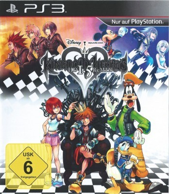 Игра Kingdom Hearts HD 1.5 Remix (PS3) б/у (eng)