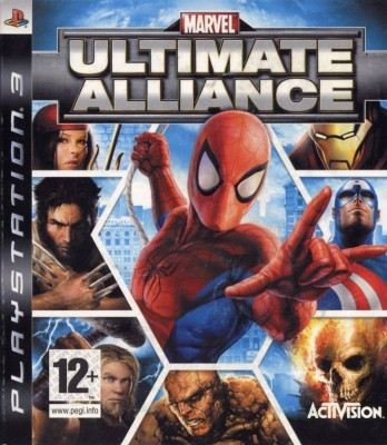 Игра Marvel Ultimate Alliance (PS3) б/у (eng)
