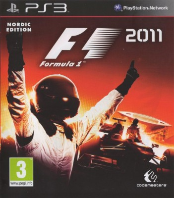 Игра F1 2011 (Formula One) (PS3) (eng) б/у