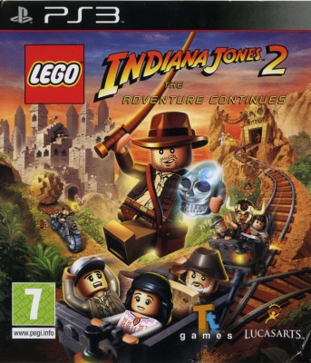 Игра LEGO Indiana Jones 2: The Adventure Continues (LEGO Индиана Джонс 2) (PS3) б/у
