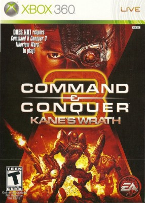 Игра Command and Conquer 3: Kane's Wrath (Xbox 360) б/у (rus)