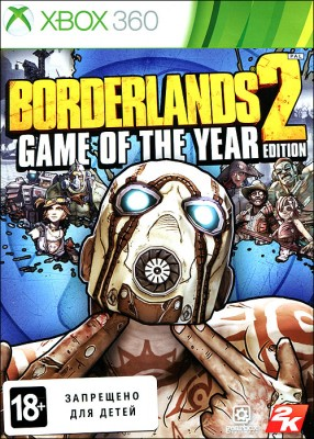 Игра Borderlands 2. Game of the Year Edition (Xbox 360) б/у