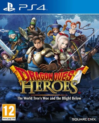 Игра Dragon Quest Heroes: The World Tree's Woe and the Blight Below (PS4) б/у (eng)