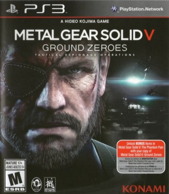 Игра Metal Gear Solid V: Ground Zeroes (PS3) б/у