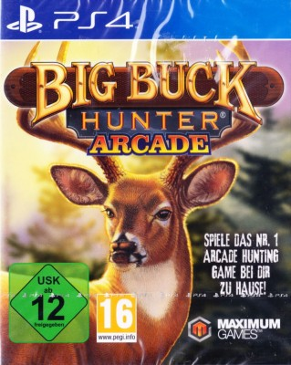 Игра Big Buck Hunter: Arcade (PS4) (eng) б/у