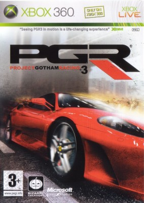 Игра Project Gotham Racing 3 (Xbox 360) (eng) б/у