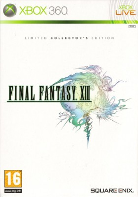 Игра Final Fantasy XIII (Limited Collector's Edition) (Xbox 360) б/у