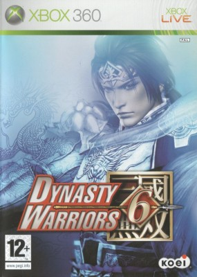 Игра Dynasty Warriors 6 (Xbox 360) (eng) б/у