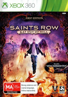 Игра Saints Row: Gat Out of Hell (Xbox 360) (rus) б/у