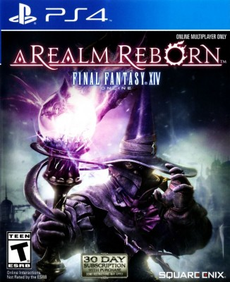 Игра Final Fantasy XIV Online: A Realm Reborn (PS4) б/у