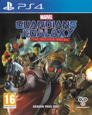 Игра Guardians of the Galaxy: The Telltale Series (PS4) (rus) б/у