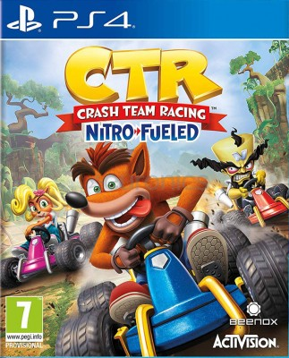 Игра CTR: Crash Team Racing - Nitro-Fueled (PS4) (eng)