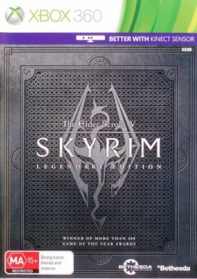 Игра The Elder Scrolls V: Skyrim - Legendary Edition (Xbox 360) (eng) б/у