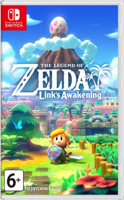 Игра The Legend of Zelda: Link's Awakening (Nintendo Switch) (rus)