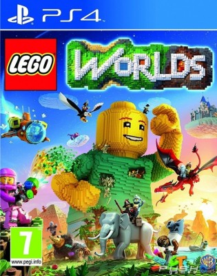 Игра LEGO Worlds (PS4) (eng)