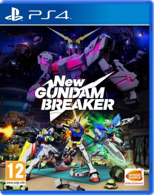 Игра New Gundam Breaker (PS4) (eng)