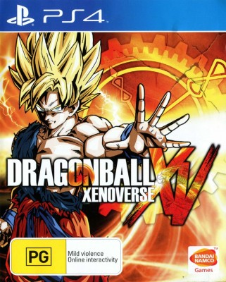 Игра Dragon Ball: Xenoverse (PS4) б/у