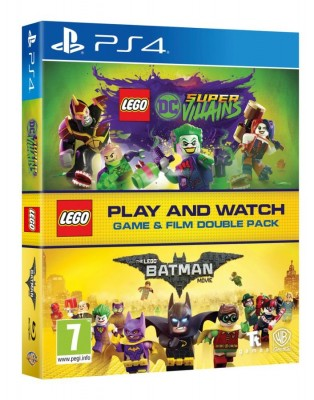 Игра LEGO DC Super-Villains & The LEGO Batman Movie - Double Pack (PS4) (rus sub)