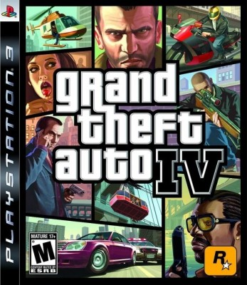 Игра Grand Theft Auto IV (PS3) б/у