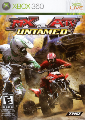Игра MX vs. ATV Untamed (Xbox 360) б/у