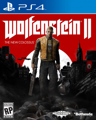 Игра Wolfenstein II: The New Colossus (PS4) (rus)