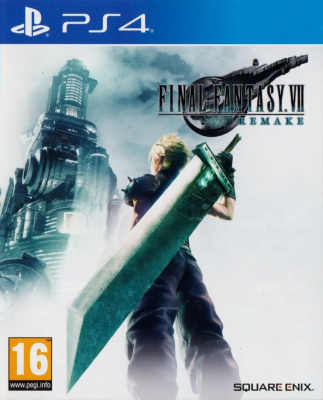 Игра Final Fantasy VII Remake (PS4) (eng)