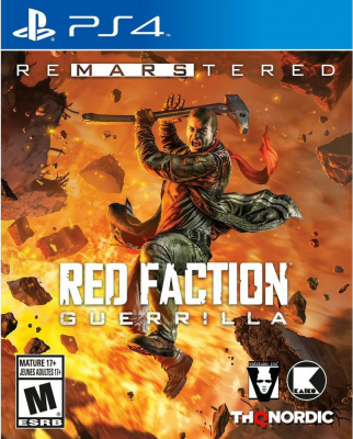 Игра Red Faction: Guerrilla - Re-Mars-tered (PS4) б/у
