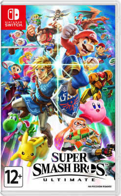 Игра Super Smash Bros. Ultimate (Nintendo Switch) (rus)