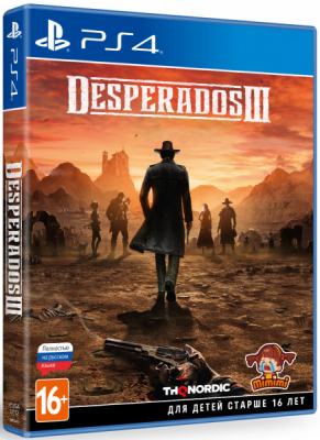 Игра Desperados III (PS4) (rus)