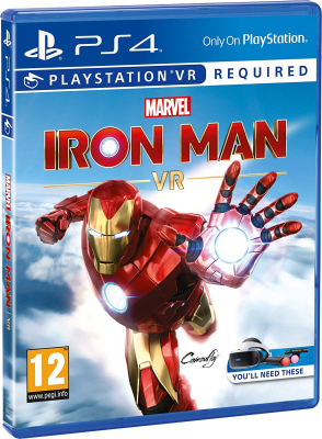 Игра Marvel's Iron Man VR (Только для VR) (PS4) (rus)