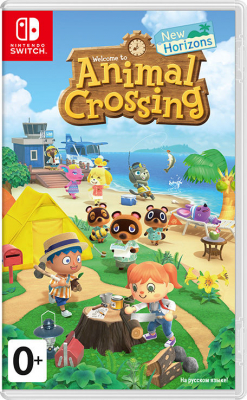 Игра Animal Crossing: New Horizons (Nintendo Switch) (rus)