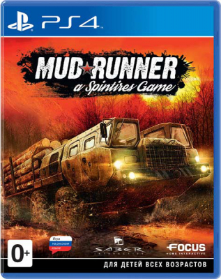 Игра Spintires: MudRunner (PS4) (rus)