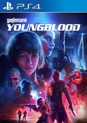 Игра Wolfenstein: Youngblood (PS4) (rus) б/у