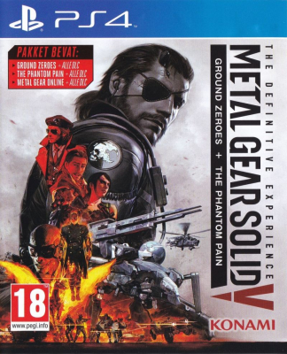 Игра Metal Gear Solid V: Definitive Experience (PS4) (rus sub)