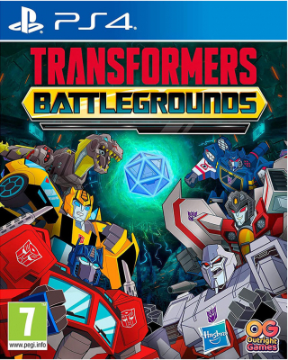 Игра Transformers: Battlegrounds (PS4) (rus sub)