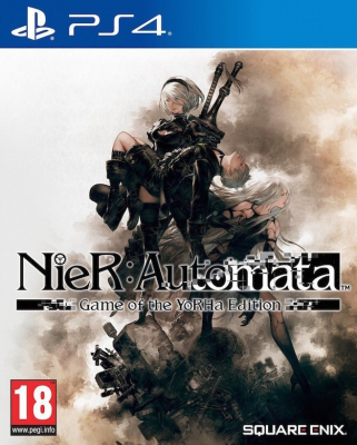Игра NieR: Automata - Game of the YoRHa Edition (PS4) (eng) б/у