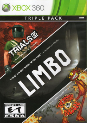 Сборник игр Trails HD + Limbo + Splosion Man (Xbox 360) (eng)