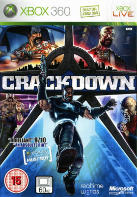 Игра Crackdown (Xbox 360) (eng)