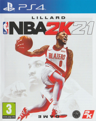 Игра NBA 2K21 (PS4) (eng) б/у