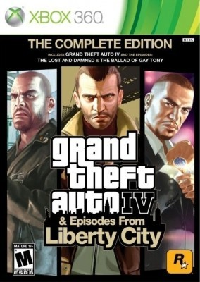 GTA IV (Grand Theft Auto 4) complete edition (GTA IV + Episodes from liberty city) (Xbox 360)